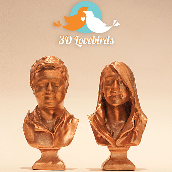 3D Printed Busts