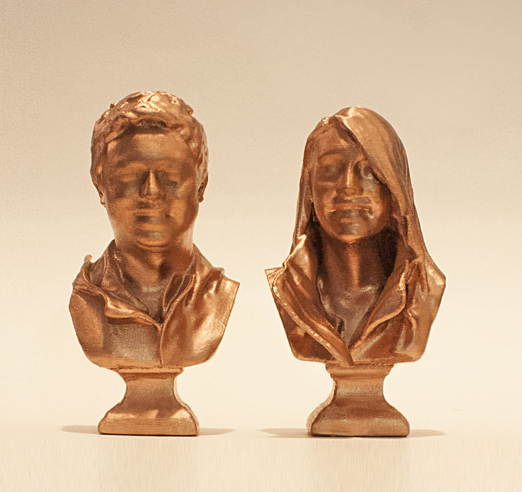 Couple Bust