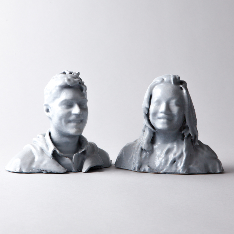 Bride & Groom Bust
